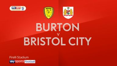 Burton 0-0 Bristol City