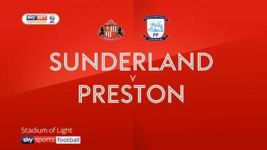 Sunderland 0-2 Preston