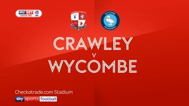 Crawley 2-3 Wycombe