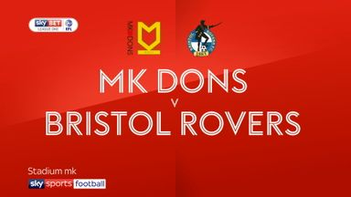 MK Dons 0-1 Bristol Rovers