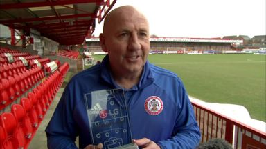 Accrington win Performance of the Week