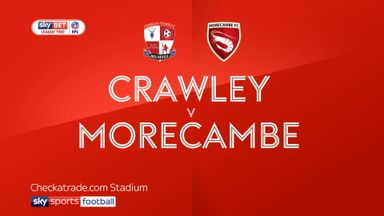 Crawley 1-1 Morecambe
