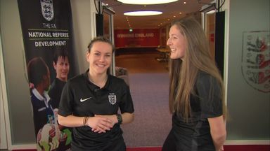 WATCH: The life of a female ref