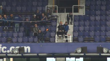 Big Dunc zip-lines across Goodison
