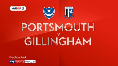 Portsmouth 1-3 Gillingham
