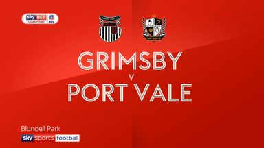 Grimsby 1-1 Port Vale