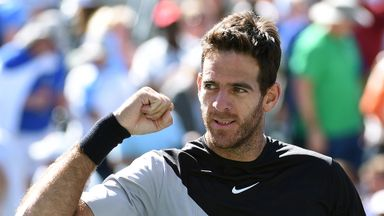 Del Potro v Raonic: Highlights