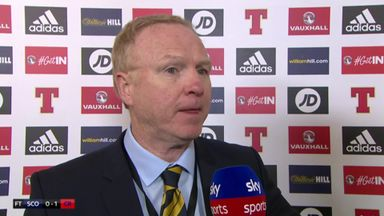 McLeish: It's a building process
