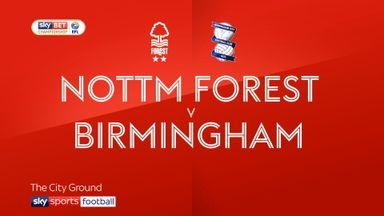 Nottm Forest 2-1 Birmingham