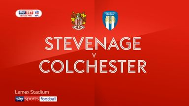 Stevenage 0-1 Colchester
