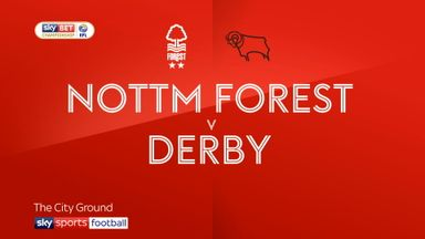 Nottingham Forest 0-0 Derby
