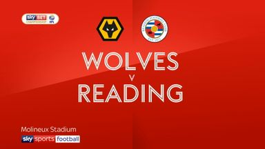 Wolves 3-0 Reading
