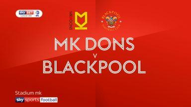 MK Dons 0-0 Blackpool