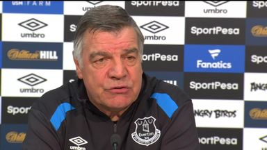 Allardyce: I want Everton job long-term