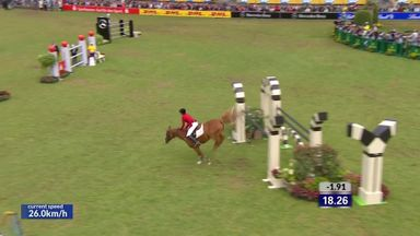 Diniz's thrilling jump off in Aachen '17