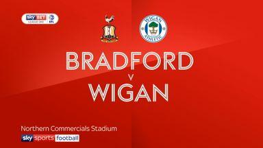 Bradford 0-1 Wigan