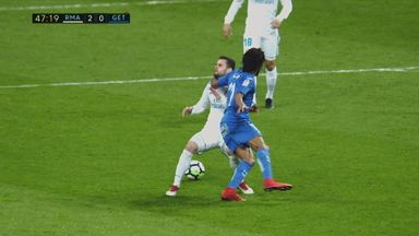 Remy sent off for clothesline tackle