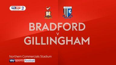 Bradford 1-0 Gillingham