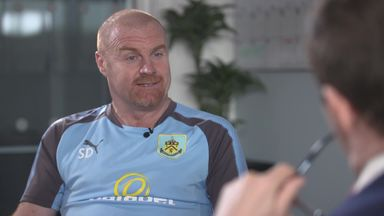 Dyche happy at Burnley