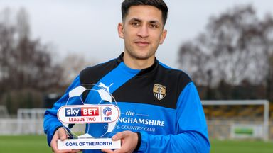 Noor Husin wins Goal of the Month