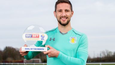 Hourihane wins Goal of the Month