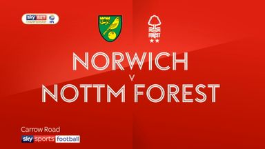 Norwich 0-0 Nottingham Forest