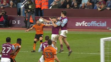Wolves denied 'clear penalty'