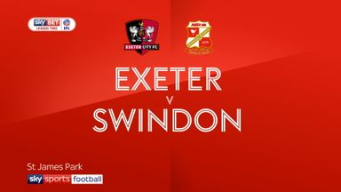 Exeter 3-1 Swindon
