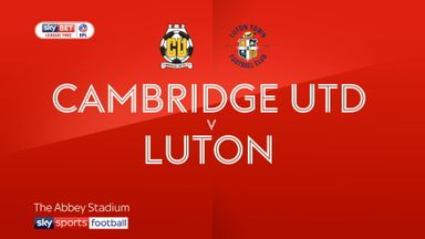Cambridge 1-1 Luton