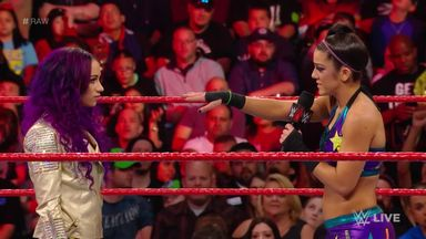 Bayley is still angry at Banks