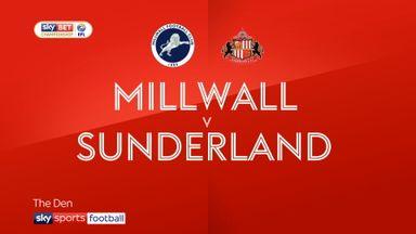 Millwall 1-1 Sunderland