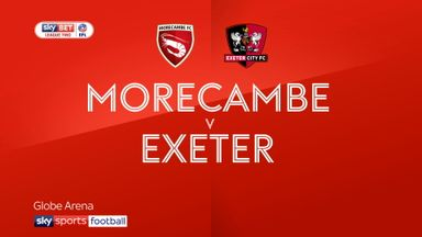Morecambe 2-1 Exeter