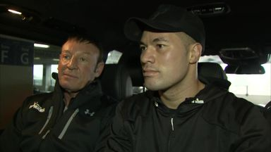 Parker arrives in UK for AJ fight