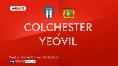Colchester 0-1 Yeovil