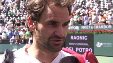 Tough fight for Federer
