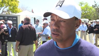 'Tournament feel' back for Tiger