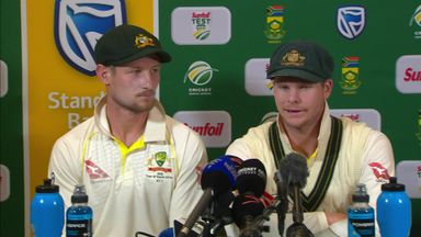 Bancroft and Smith admit ball tampering
