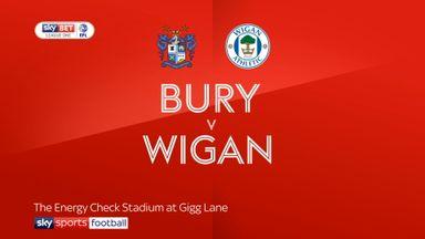 Bury 0-2 Wigan