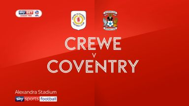 Crewe 1-2 Coventry