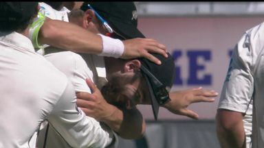 Williamson's spectacular catch