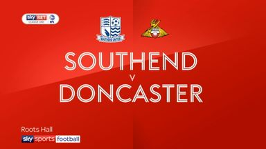 Southend 0-0 Doncaster