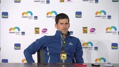 Djokovic: I wasn't ready