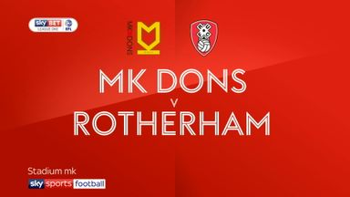 MK Dons 3-2 Rotherham