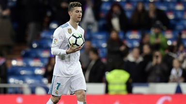 Ronaldo nets four in Real win