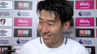 Son delighted with MOTM performance