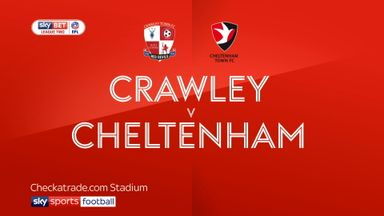 Crawley 3-5 Cheltenham