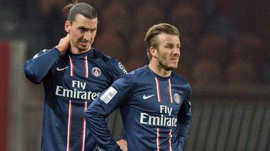 Zlatan: Beckham influential in LA move