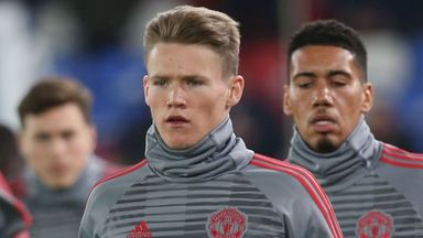Carrick: McTominay desperate to do well