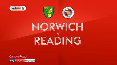 Norwich 3-2 Reading