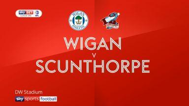 Wigan 3-3 Scunthorpe
